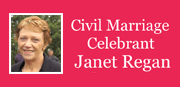 Janet Regan Civil Marriage Celebrant